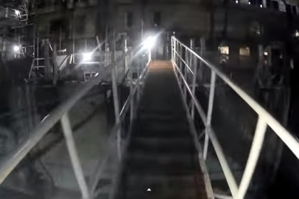Costa Concordia, il video girato all'interno del relitto della nave