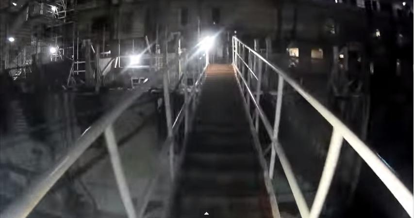 Costa Concordia, il video girato all'interno del relitto della nave