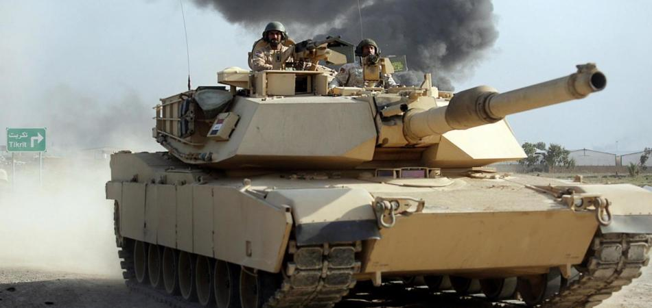 L'esercito iracheno entra a Tikrit