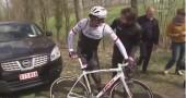 Fabian Cancellara cade al Gp E3 ad Harelbeke: frattura di due vertebre
