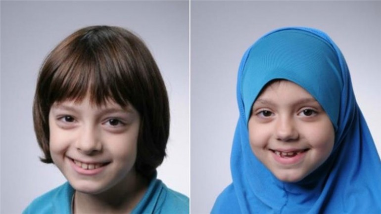 La foto dei due bambini, diffusa dalla polizia olandese