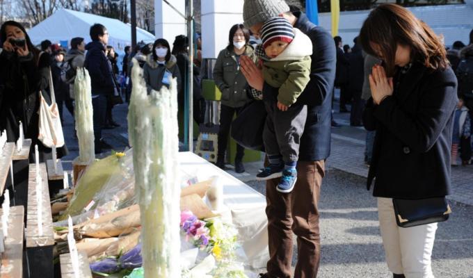 Il Giappone si ferma nel quarto anniversario dello Tsunami