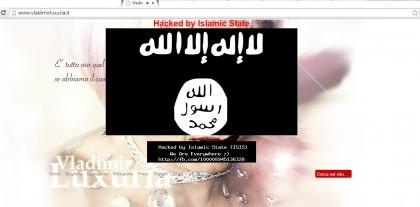 L'hackeraggio sul sito di Luxuria