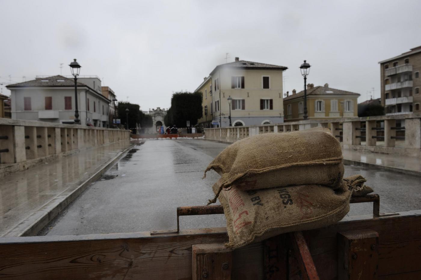 Maltempo Senigallia - Allerta alluvione