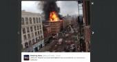 Manhattan, esplosione in una palazzina: «almeno 30 feriti»