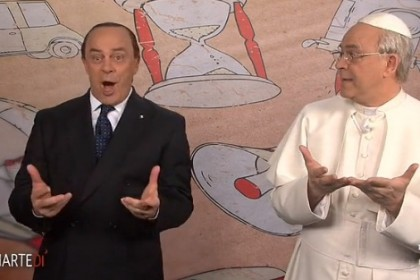maurizio crozza papa francesco
