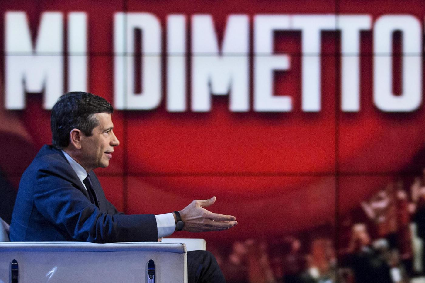 "Maurizio Lupi ospite a ""Porta a Porta"""