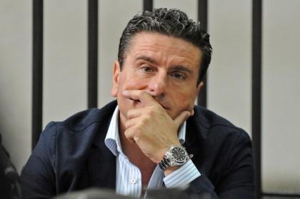 Napoli, udienza del processo Calciopoli
