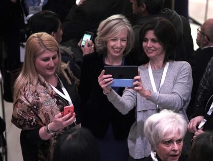 Il ministro dell'Istruzione Stefania Giannini. Foto Fabio Cimaglia / LaPresse