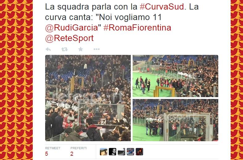 Roma-Fiorentina diretta
