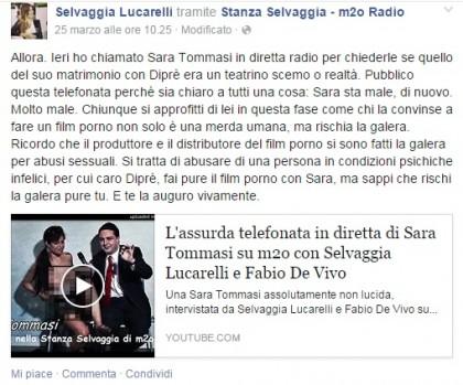 Facebook/Selvaggia Lucarelli