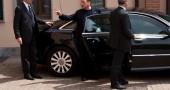 Uscita Berlusconi dai servizi sociali - Cesano Boscone(MI)