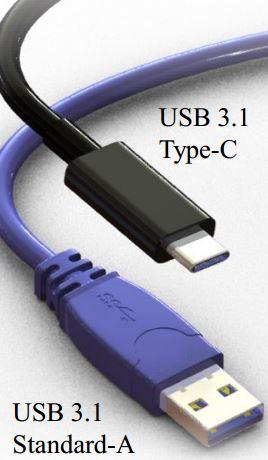 La USB Type-C confrontata con una 3.1