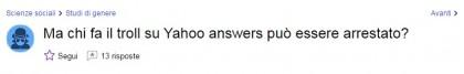 yahoo answers domande assurde 6