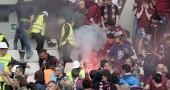 Bomba carta Torino Juventus