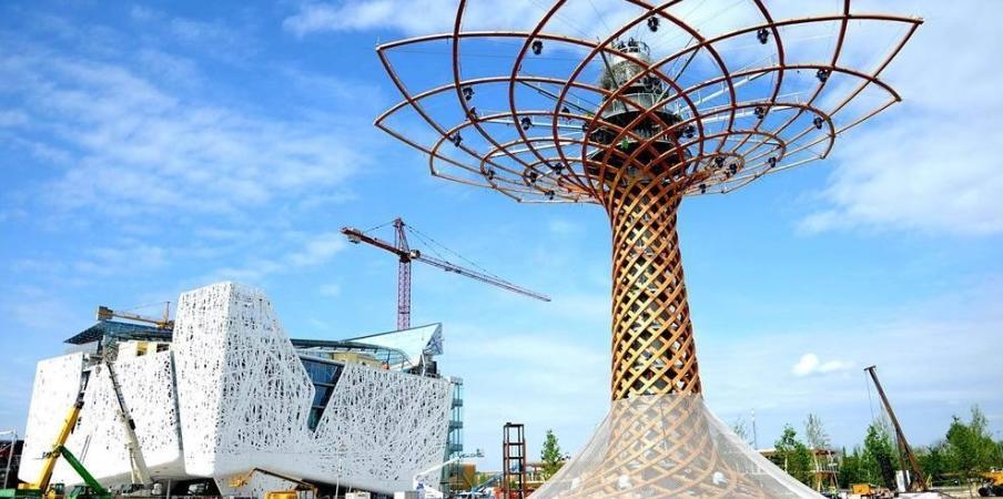Expo padiglione Italia Albero della vita