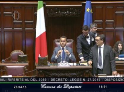 Italicum Luigi Di Maio diretta Montecitorio