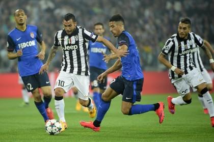 Juventus-Monaco diretta tevez