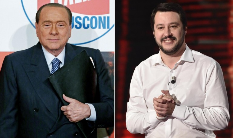 Berlusconi Salvini