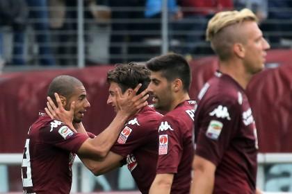 Torino-Juventus diretta Darmian esulta