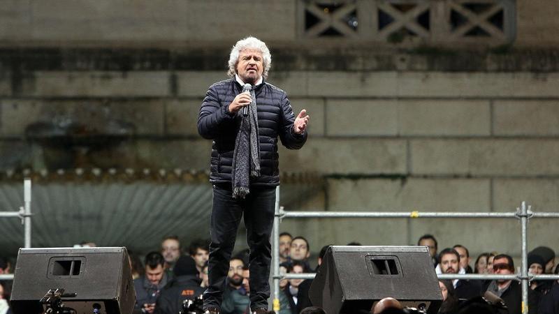 Beppe Grillo: «Bersani voleva da noi 12-13 senatori per far governare il centrosinistra»