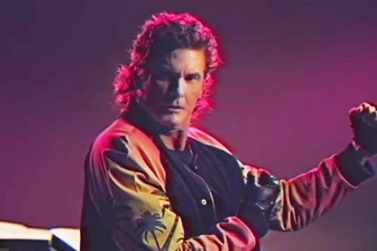 david hasselhoff video kung fury