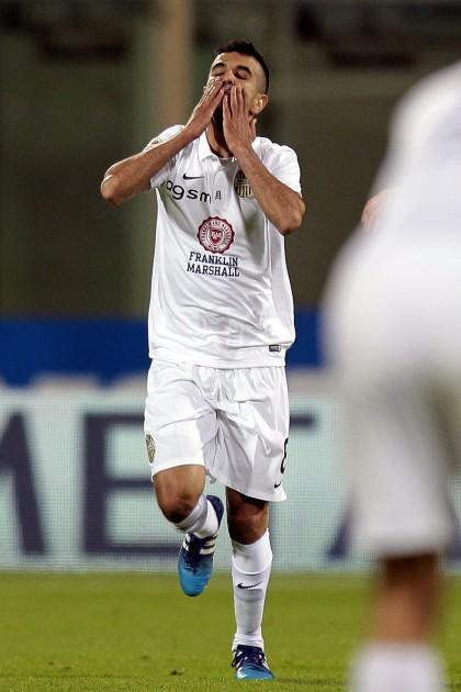Fiorentina Verona diretta obbadi esulta