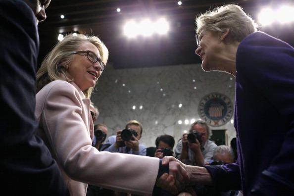 Hillary Clinton ed Elizabetjh Warren
