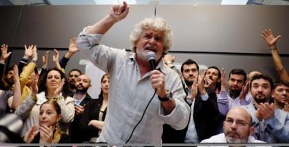 ITALY-POLITICS-VOTE-PRESIDENT-GRILLO