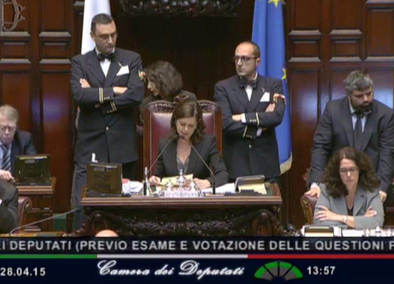 italicum pregiudiziali laura boldrini