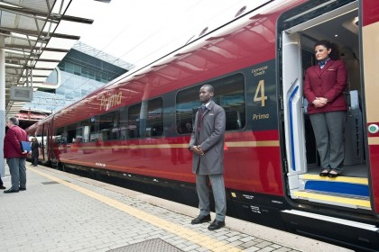 NTV's High Speed Train Makes Inaugural Journey