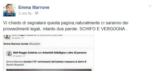 marrone facebook