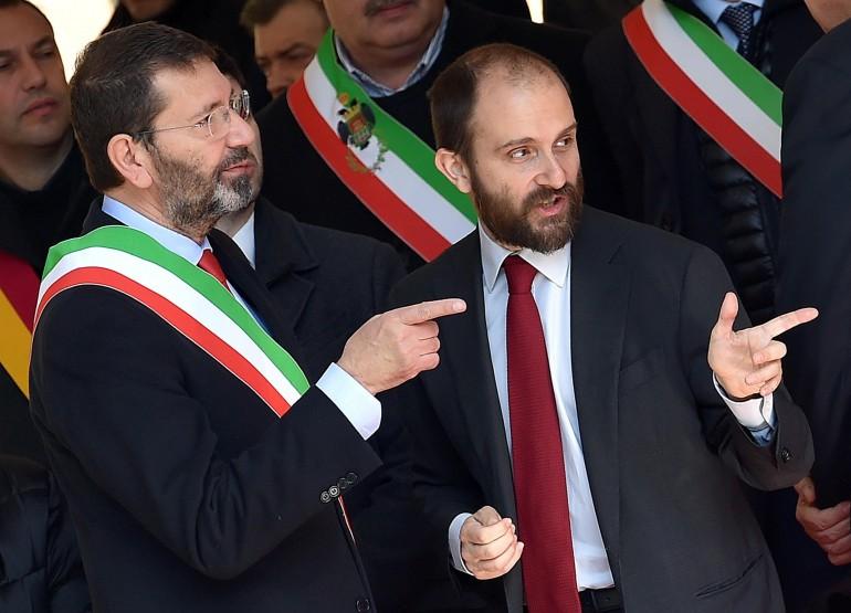 Matteo Renzi Ignazio Marino