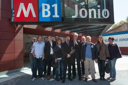 metro b roma stazione jonio