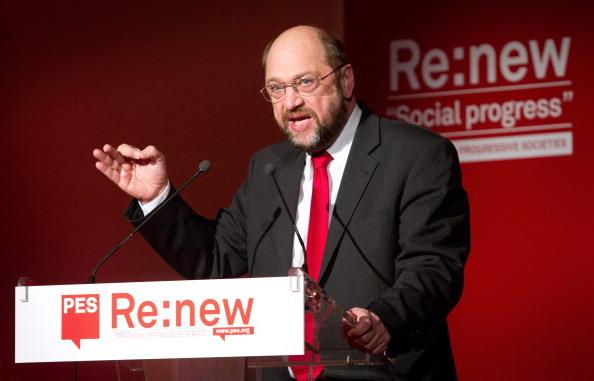 Pse e uno dei leader della sinistra europea, Martin Schulz