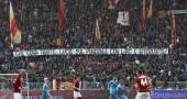 Roma-Atalanta, riaperta la Curva Sud laterale dopo gli striscioni contro la madre di Ciro Esposito