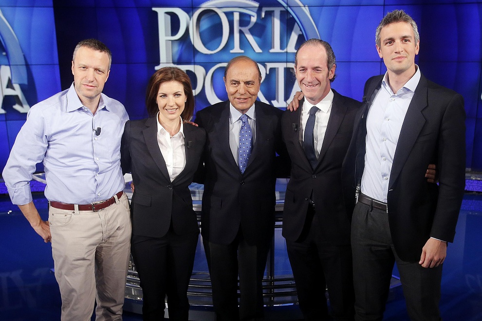 Regionali: candidati Veneto a 'Porta a porta'