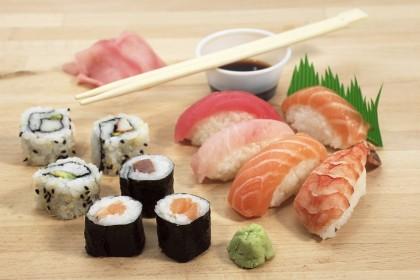 sushi come si mangia