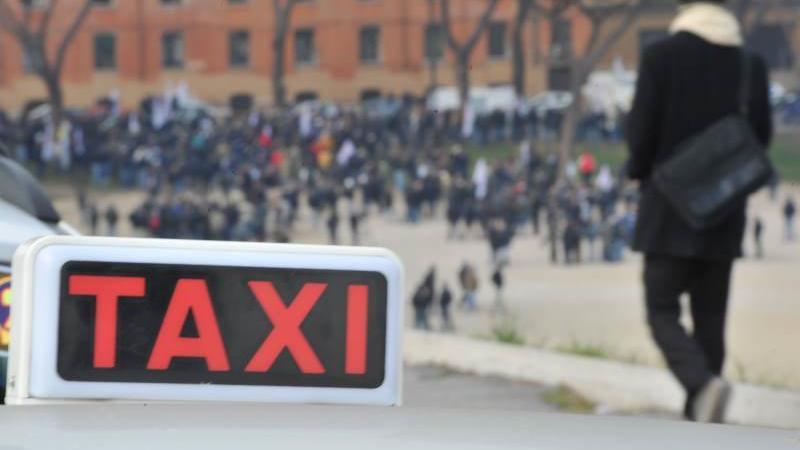 Taxi roma bambino down