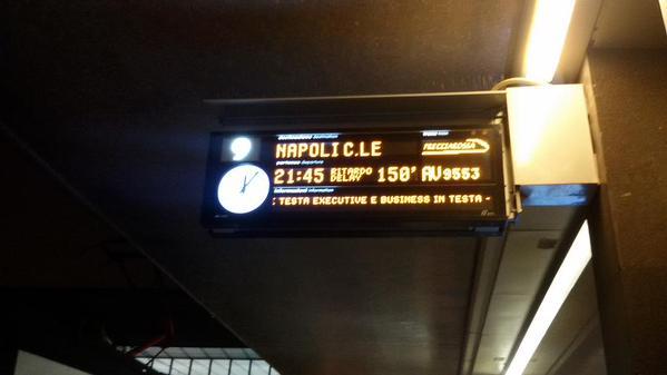 treni bloccati Roma