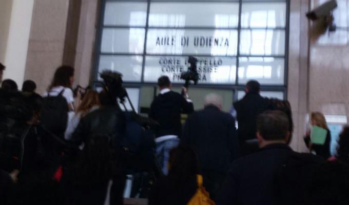 Spari tribunale Milano conferenza stampa