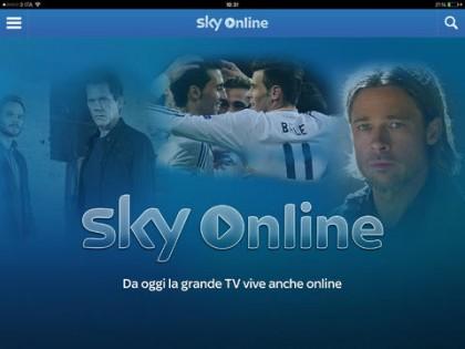 App per vedere la tv SKY ONLINE