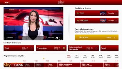App per vedere la tv SKY TG 24