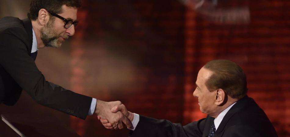 Ascolti tv di domenica 24 maggio 2015 Che tempo che fa Berlusconi
