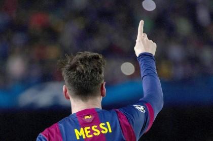 Barcellona-Bayern Monaco diretta Messi esulta