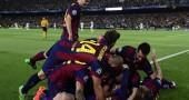 Barcellona-Bayern Monaco diretta squadra esulta