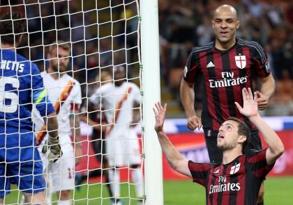 Milan-Roma diretta destro