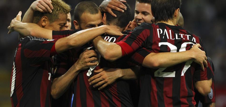 Milan-Roma diretta esultanza