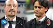 Napoli-Milan presentazione