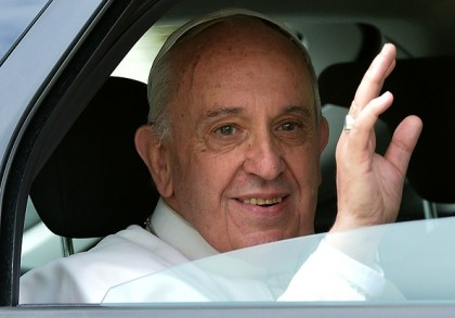 ITALY-RELIGION-POPE-NORTH-AMERICAN-COLLEGE